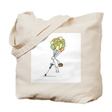 Funny Stick it to the man Tote Bag