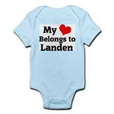 My Heart: Landen Infant Creeper