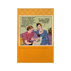 CLUELESS Rectangle Magnet (100 pack)