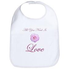 All You Need Is Love Bib