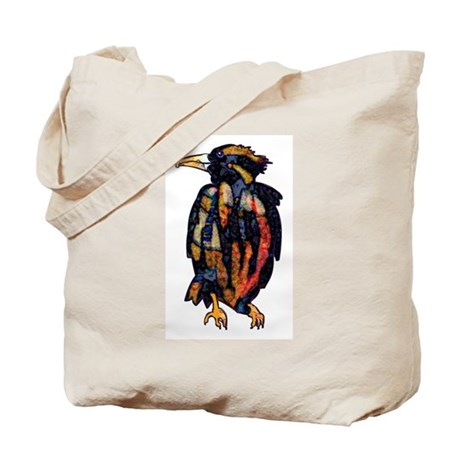 Thoughtful Raven Tote Bag