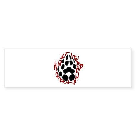 Wolfie's Workshop Bumper Sticker
