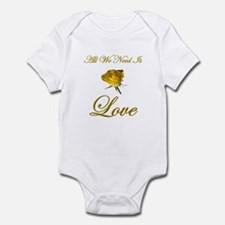All We Need Is Love Infant Bodysuit