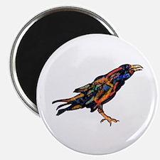 Pensive Raven Magnet