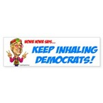 Dean Keep Inhaling Bumper Sticker