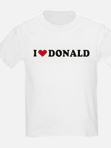 I LOVE DONALD ~  Kids T-Shirt
