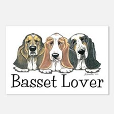 Basset Hound Lover Postcards (Package of 8)