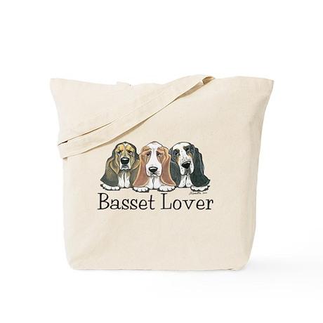 Basset Hound Lover Tote Bag