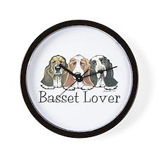 Basset Hound Lover Wall Clock
