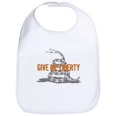 Give Me Liberty Rattlesnake Bib