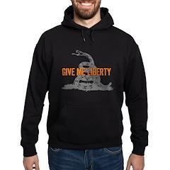 Give Me Liberty Rattlesnake Hoodie