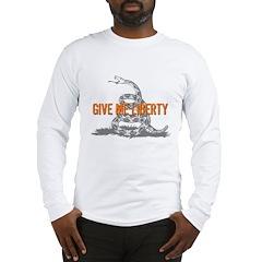 Give Me Liberty Rattlesnake Long Sleeve T-Shirt