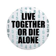 LOST Live Together Ornament (Round)