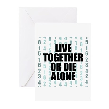 LOST Live Together Greeting Cards (Pk of 10)