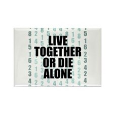 LOST Live Together Rectangle Magnet