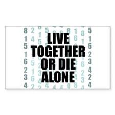 LOST Live Together Decal