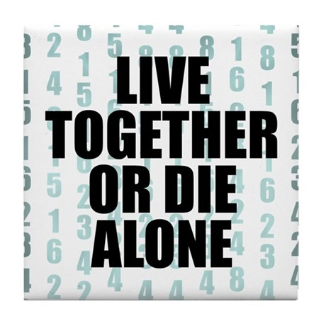LOST Live Together Tile Coaster