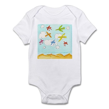 Busy Aeroplanes Infant Bodysuit