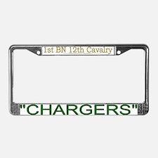 1bn 12th cav License Plate Frame