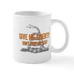 Don't Give Me Debt Mug