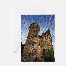 Cute Ashford castle Greeting Card