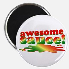 """Awesome Sauce 2.25"""" Magnet (10 pack)"""