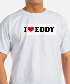 I LOVE EDDIE ~  Ash Grey T-Shirt