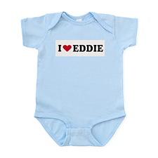 I LOVE EDDY ~  Infant Creeper