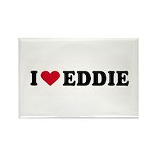 I LOVE EDDY ~ Rectangle Magnet