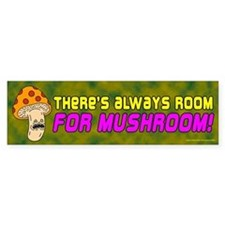 Room For Mushroom (sticker)