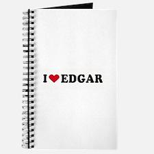 I LOVE EDGAR ~ Journal