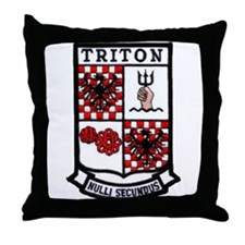 USS TRITON Throw Pillow