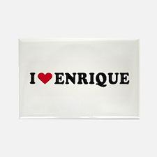 I LOVE ENRIQUE ~ Rectangle Magnet