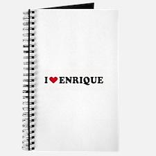 I LOVE ENRIQUE ~ Journal