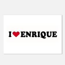 I LOVE ENRIQUE ~  Postcards (Package of 8)