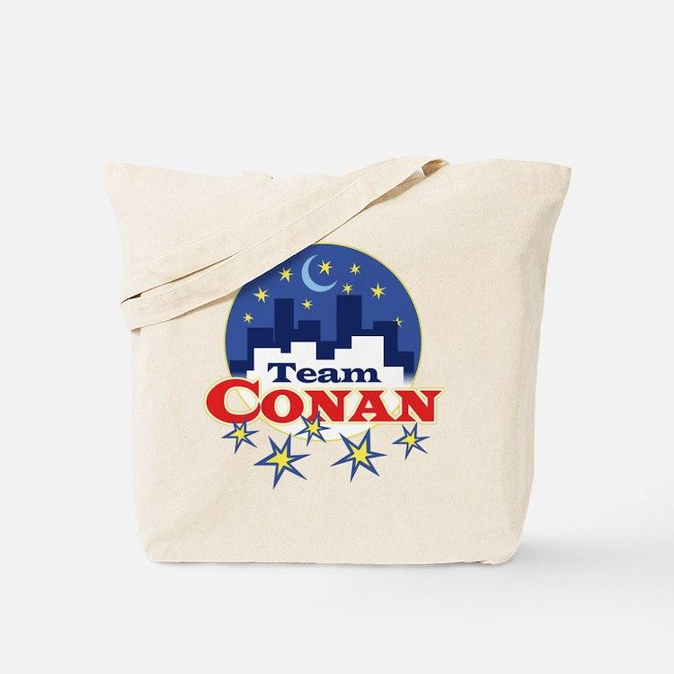 Talk Show Team Conan Tote Bag