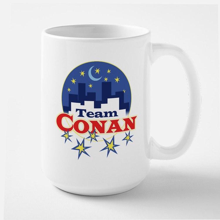 Talk Show Team Conan Mug