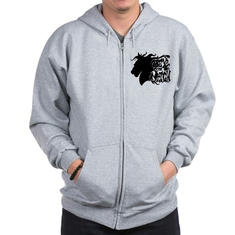 OBEY THE NEIGH Zip Hoodie