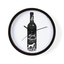 Vizsla Vineyards Wall Clock