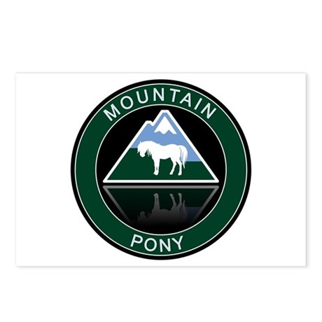 Mountain Pony Postcards (Package of 8)