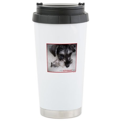 mini schnauzer haus travel mug by minischnauhaus. Black Bedroom Furniture Sets. Home Design Ideas