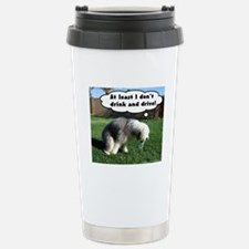 Stainless Steel Travel Sheepdog Mug
