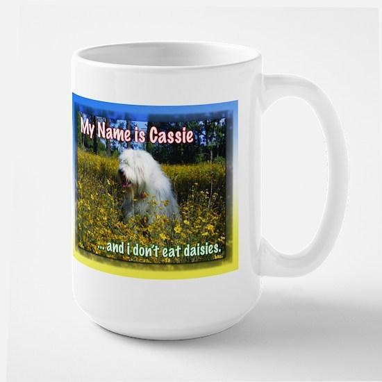 Large sheepdog Mug