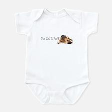 German Shephard Infant Bodysuit