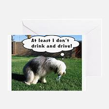 Sheepdog Greeting Card