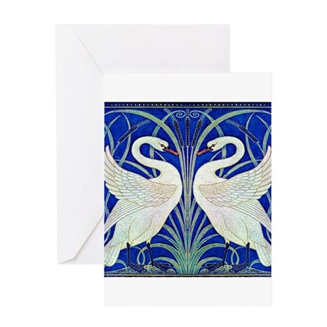 THE SWANS Greeting Card