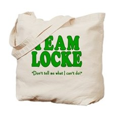 TEAM LOCKE with Quote Tote Bag