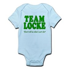 TEAM LOCKE with Quote Infant Bodysuit