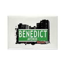 Benedict Av, Bronx, NYC Rectangle Magnet