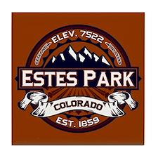 Estes Park Vibrant Tile Coaster